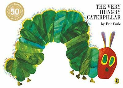 (Good)-The Very Hungry Caterpillar (Paperback)-Eric Carle-0140569324