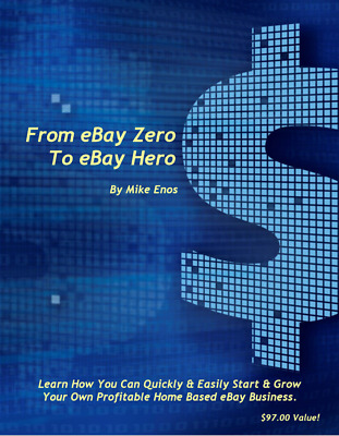 BEST EBOOK 'From eBay Zero to eBay Hero'  PDF eBook + Master Resell Rights