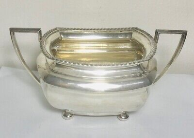 Rare Antique English sterling solid silver bowl,Chester , hallmarked 1919