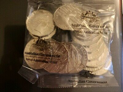 2019 International Year Of Indigenous Languages 50 Cent Coin Mint Bag of 20 UNC