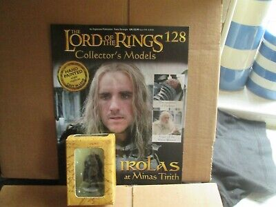 Irolas At Minas Tirith (Lord Of The Rings Figure Collection #128) New