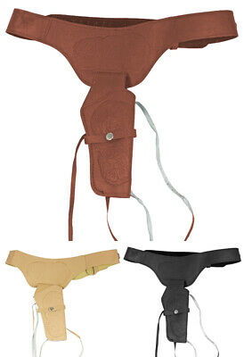 Cowboy Colt Holster for Adults - Wild West Accessory Pistols Sheriff