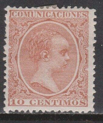 1889 Alfonso Xiii 10 Cts*. Ver. 20,5 €