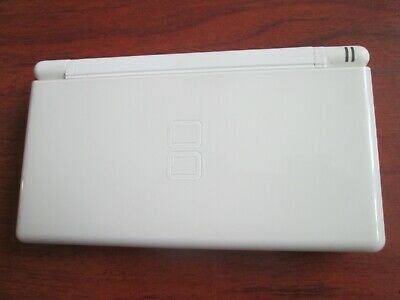 Nintendo DS Lite Handheld System - Polar White FULLY TESTED WITH 42 GAME EX C