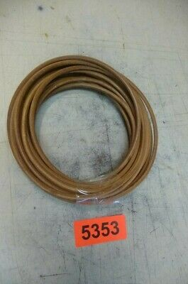 5353. 1 €/lfm. Lederband 9 Meter 4 mm dick