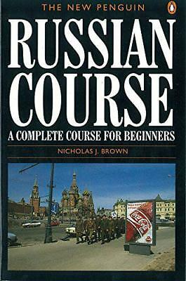 The New Penguin Russian Course: A Complete Course for Beginners (Penguin Handboo