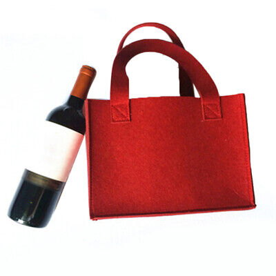 Wines Storage Bag With 6 Grids Beer Drink Bottle Protective Bag With Handle