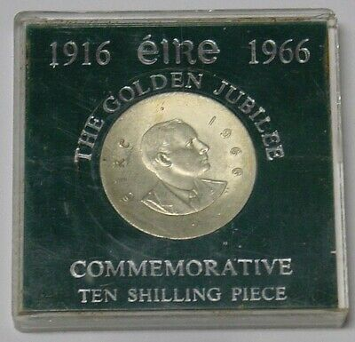IRELAND, Silver 10s, 50th Anniversary of Easter Uprising, in case.