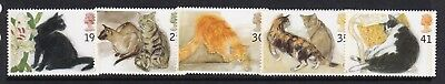 Gb Great Britain 1995 Cats Set Never Hinged Mint