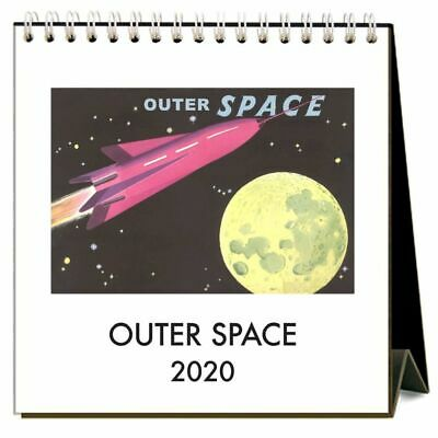 Outer Space Easel Calendar