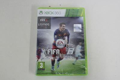 MICROSOFT Xbox 360 Live FIFA 16 1-4 Players HDTV Dolby Digital Console Game