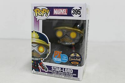 FUNKO Pop! Star Lord Peter Quill Classic Outfit Guardians Galaxy Limited PX BNIB