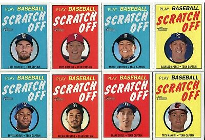 2019 Topps Heritage High Numbers Scratch Off - You Pick Complete Your Set