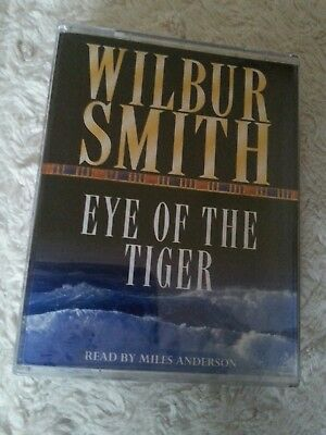 Wilbur Smith - Eye Of The Tiger  Audio Book- Talking Books  ( 2  Cass )