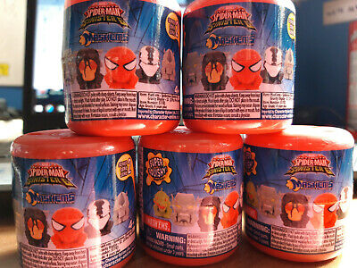 Ultimate Spiderman Vs Sinister 6 Mashems - Series 2 - Recieve 5 Sealed Tubs -New