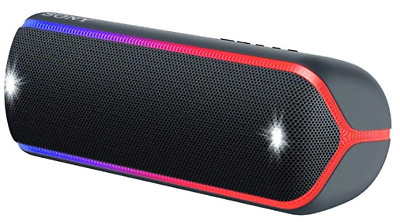 Sony SRS-XB32 Portable Bluetooth Speaker with Extra Bass, water proof - Black