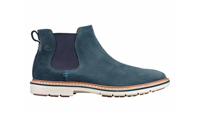"""Timberland Men/'s /""""Naples Trail Chelsea/"""" Blue Navy Boots Multiple Size NIB"""