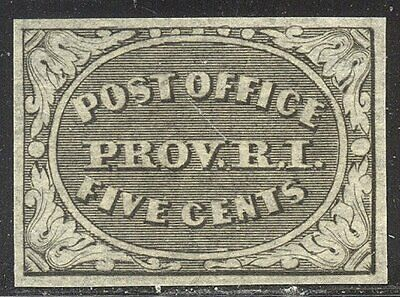 U.S. #10X1R Unused - 1846 5c Black, Provisional, REPRINT ($65)