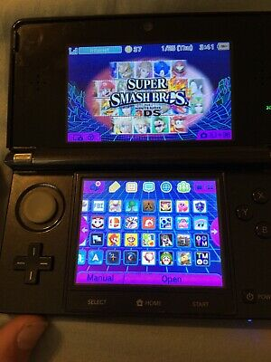 3ds modded With 20-30 New Games