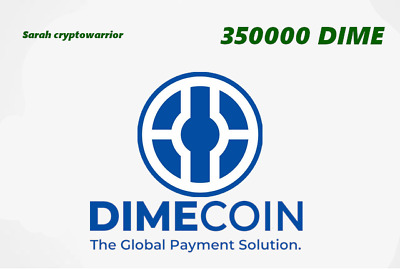 350000 DimeCoin (DIME) CRYPTO MINING-CONTRACT ( 350000 DIME ) Crypto Currency