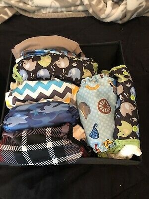 Cloth Diapers With Liners. Each Retails For $19.99. One Size Fits All