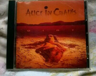 Dirt - 1992 Cd Album Alice In Chains(Usa Rock Band)