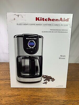 KitchenAid KCM111OB 12 Cups Coffee Maker - Onyx Black