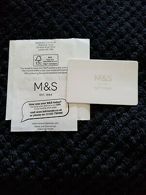 £20 Marks and Spencer Voucher Gift Card