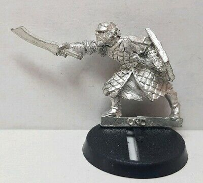 Orc Warrior Last Alliance Third Age metal model (b) LOTR Lord of the Rings OOP