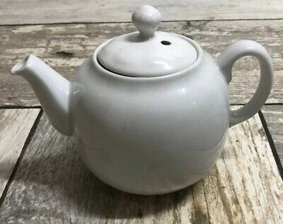 PILLIVUYT 330955 White 2 Cup Teapot Made In France