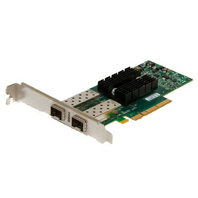 HP 10Gb G2 Dual Port SFP+ Network Interface PCIe Card LP Bracket 516937-B21