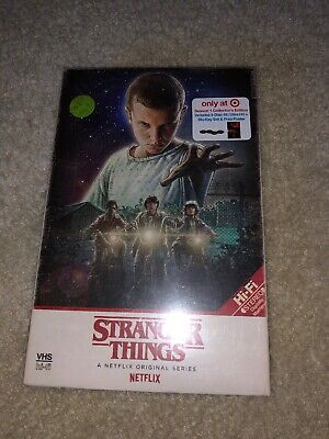 Stranger Things -Season 1 (4K Ultra HD + Blu-Ray) TARGET Exclusive VHS box New!