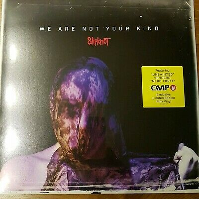 Slipknot We Are Not Your Kind Vinyl Limited Pink Edit New and Sealed