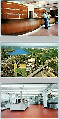 3 Postcards OLYMPIA, Washington WA ~ OLYMPIA BREWING COMPANY Brewery Beer c1970s