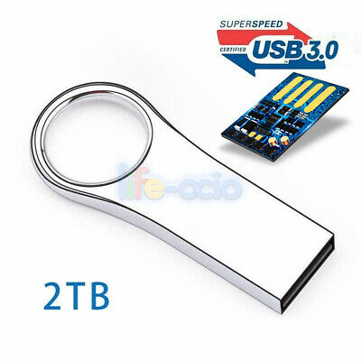 USB 3.0 2TB Flash Drives Metal USB Drives Pen Drive Flash Memory Stick U Disk