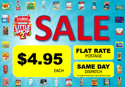 Coles Little Shop 2 Mini Collectables | SAME DAY Dispatch