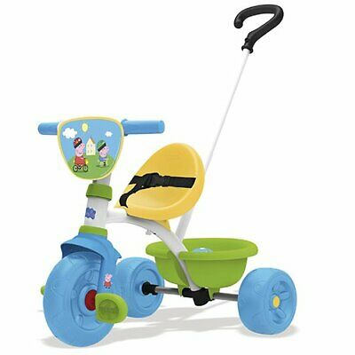 1624160-Smoby- Peppa Pig Triciclo Be Move, Colore aucune, 7600740313