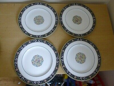 4 Wedgwood Runnymede Dinner Plates - W4472 - 2 sets available