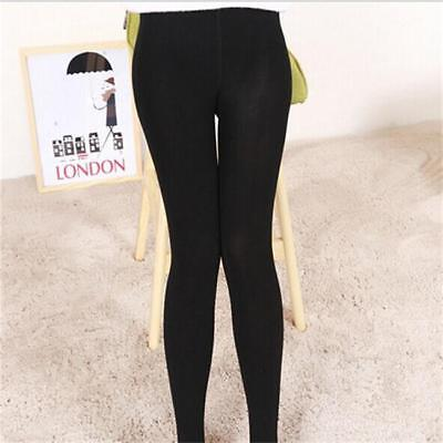 Womens Winter Fleece Thermal Warm Stretchy Thick Full Length Leggings Pants LA