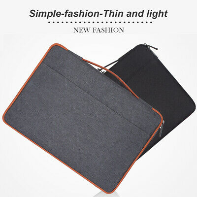 Large Capacity Laptop Sleeve Case Notebook Cover Bag For MacBook HP Dell Lenovo