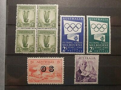 Australian Pre-Decimal MINT & USED Stamps MNH & VFU, Some used great mix.