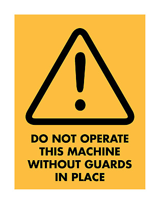 Beware Do Not Operate Sign