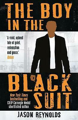 Boy in the Black Suit by Jason Reynolds Paperback Book Free Shipping!