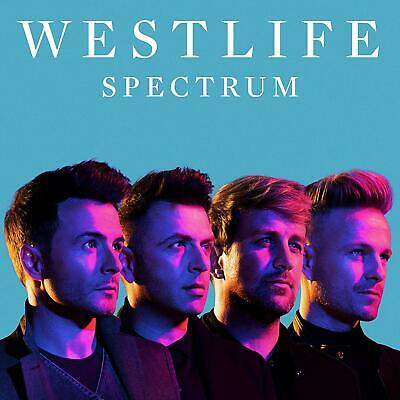 WESTLIFE SPECTRUM CD (New Release NOVEMBER 15th 2019)