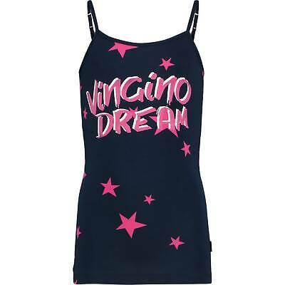 Vingino Girls Unterhemd GLOW dark blue Gr.8 (128) HERBST/WINTER 19/20 NEU