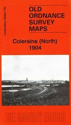 Old Ordnance Survey Map Coleraine North 1904
