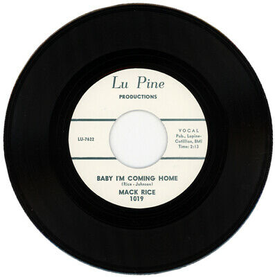 "Mack Rice  ""Baby I'm Coming Home"" R&B Classic"