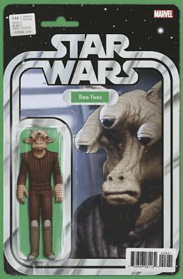 Star Wars #46 Ree-Yees Action Figure Variant Comic Book John Tyler Christopher