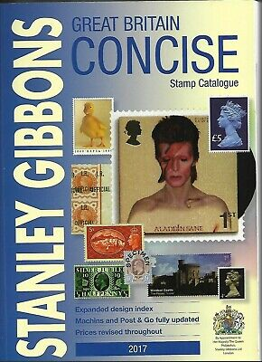Stanley Gibbons Great Britain 2017 Concise Stamp Catalogue Softback
