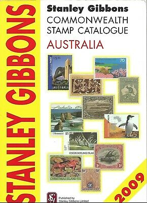 Stanley Gibbons australia 2009 stamp catalogue